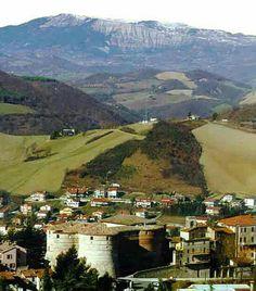 Montefeltro landscape