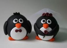 Chubby penguin toppers