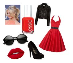 """""""❤️Lela from Teen Beach Movie❤️"""" by oasymons on Polyvore featuring Étoile Isabel Marant, Michael Antonio, Lime Crime, ZeroUV and Essie"""