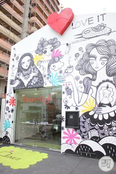 love it @ #streetstylepoa artista nina moraes