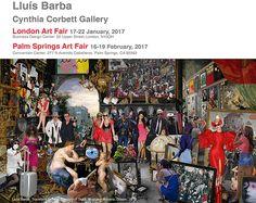 London Art Fair | Palm Springs Art Fair | Cynthia Corbett Gallery | January-February 2017