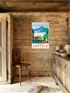 Bathroom Decor Ideas : Description A Zurich couple reimagines a centuries-old chalet as a modern-rustic weekend retreat Chalet Chic, Chalet Style, Chalet Meribel, Chalet Interior, Mountain Cottage, Cabins In The Woods, Rustic Interiors, Log Homes, Modern Rustic