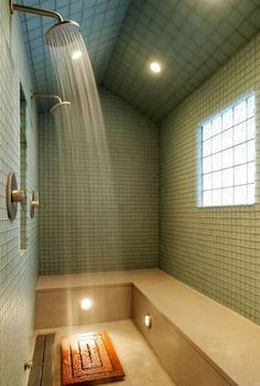 This is a shower that will make you feel like your at a spa. Very relaxing feel to it.