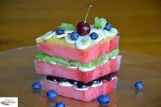 Watermelon cake. Deliciously, refreshingly, decadently healthy.