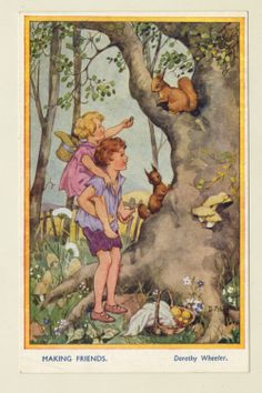 Woodland Secrets Series No 1, Making Friends