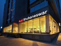 Audi india opens their 26th showroom in india at Bhubaneshwar. Lara Dutta joins Michael Perschke to inaugurate 1st audi showroom in Orissa.