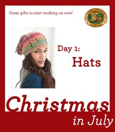 Christmas in July Day 1: 6 Hats to Make for Friends and Family!