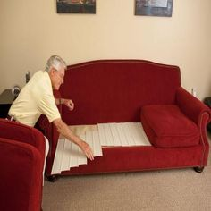 Sleeper Sofas Fix sagging couch Furniture Fix Seat u Cushion Support The Home Depot