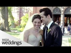 Tiler and Robbie's Classic New York City Wedding Video - Martha Stewart Weddings - YouTube