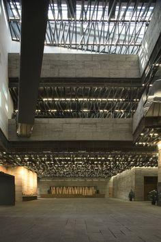 Ningbo History Museum © Lv Hengzhong.  (Wang Shu, 2012 Pritzker Prize)    #futuretrips