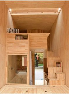 A Very Small House in China. Toby loves this design.