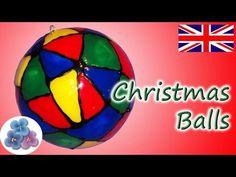 DIY Christmas Balls *How to Make Christmas Decorations* Christmas Tree Crafts Ideas Mathie