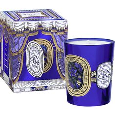 Diptyque Un Encens Etoile Candle (4.190 RUB) ❤ liked on Polyvore featuring home, home decor, candles & candleholders, wick candles, diptyque, diptyque candles and vanilla candles