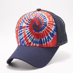 0b4fb05e1b14ce Buy Wholesale Blank Hats at Pit Bull Hats Online Shop. Pit Bull USA Pattern  Tie Dye Curved Visor Trucker Hats Caps Wholesale and Custom Embroidery.