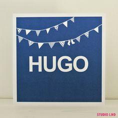 Geboortekaartje Hugo 24/10/2014