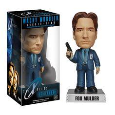 X-Files Fox Mulder Bobble Head - Funko - X-Files - Bobble Heads at Entertainment Earth