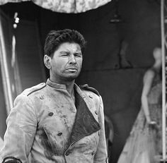 American actor Charles Bronson in an episode of the television show 'The Twilight Zone' entitled 'Two' Culver City California May 15 1961 The episode. Actor Charles Bronson, Zone Tv, Twilight Zone Episodes, Psychological Horror, Anthology Series, True Detective, Old Shows, Show Photos, Scary Movies