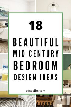 Mid-century modern is refers to the decorating style and it is characterized by lots of natural wood, simple lines, a mostly muted palette, and a sense of form-meets-function. #midcentury #bedroomdesign #bedroomideas #bedroomdecor #interior #interiorideas #interiordecor One Bedroom, Modern Bedroom, Bedroom Decor, Mid Century Bedroom, People Sleeping, Simple Lines, Midcentury Modern, Natural Wood, Decor Styles