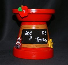 Teacher Candle Holder on Etsy, $14.99