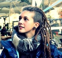 Awe Inspiring Dreadlocks With A Shaved Side Earthy Dread Styles Pinterest Hairstyle Inspiration Daily Dogsangcom