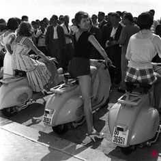 Made in Italy Vespa! 1955