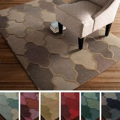Artistic Weavers Hand-tufted Ryde Moroccan Trellis Wool Rug (2' x 3') - 17098574 - Overstock Shopping - Great Deals on Artistic Weavers Accent Rugs