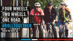 May is National Bike month. Let's roll together!