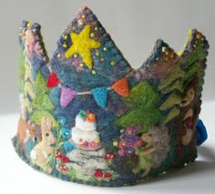 Each BTRT crown is made with imagination and exquisite detail. This listing is to create a one of a kind crown for your child... you will