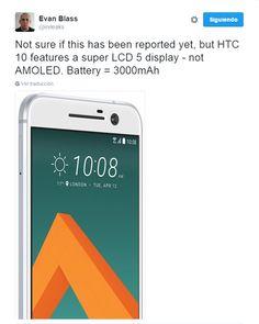 awesome HTC 10 : Pantalla Super LCD 5 y batería de 3000mAh