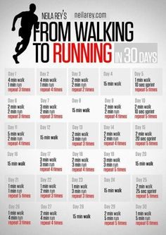 Walk to Run - Similar to Couch to 5k but less intense.