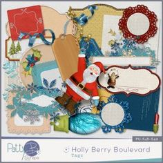 Holly Berry Boulevard Tags