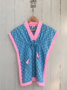 Blue Mosaic, Kids Wardrobe, Kids Wear, Cover Up, Rompers, Children, Pink, How To Wear, Dresses