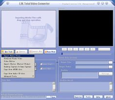 Total Video Converter helps you convert avi to mp4 with fast speed and high quality.