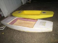 Picture of Seafoam Kayak, the Unsinkable Foam Kayak Anyone Can Build, 16 Pounds and Eight Feet of Fun