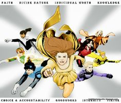 Marquette LaRee: Young Women Themed Ideas: Superheroes