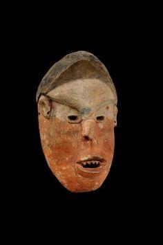 Woyo Ndunga Mask, DR Congo African Masks, African Art, Zoology, Tribal Art, Anthropology, Archaeology, Belgium, Masquerades, Museum