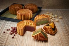 Delicious mooncakes in Malaysia.