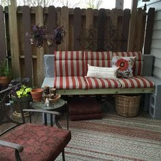 needed a garden bench, how to, outdoor furniture
