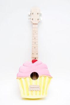 Cupcake Ukulele.