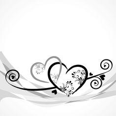 Elegant heart with floral background vector 06 Frame Background, Background Pictures, Vector Background, Free Vector Graphics, Eps Vector, Vectors, Graphic Design Art, Web Design, Wedding Borders