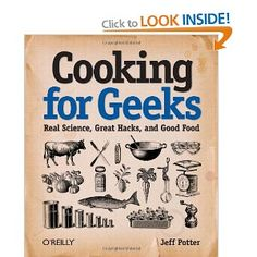 Science and cooking - so cool.