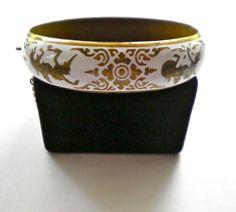 SIAM vintage Wide Clamper Bracelet  Goddess of by JoolsForYou