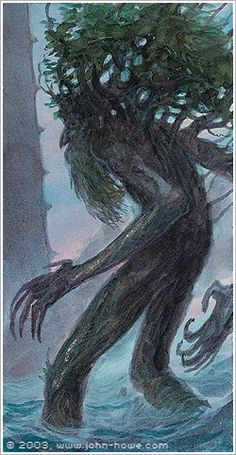 John Howe :: Illustrator Portfolio :: Home / From Hobbiton to Mordor / Cards and Such / Ents Thumbprint Guest Books, John Howe, Guest Book Tree, The Two Towers, Jrr Tolkien, Middle Earth, Lord Of The Rings, Sculpture, Fantasy Creatures