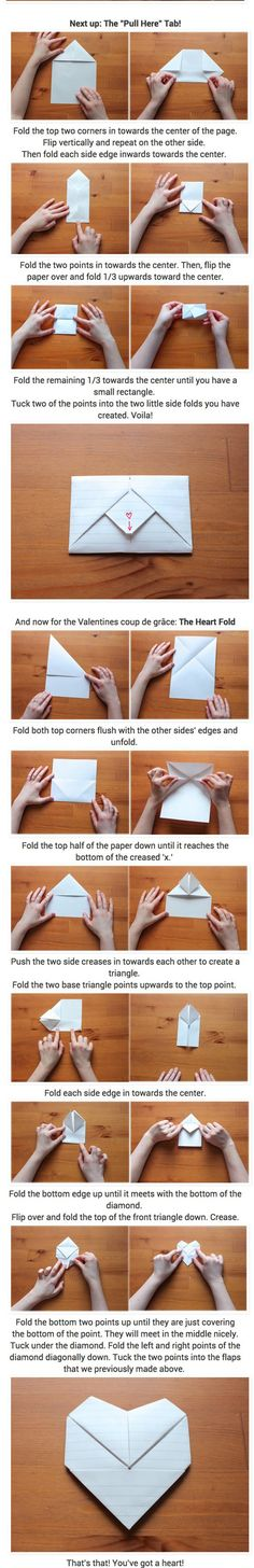 Funny pictures about Awesome Folding Skills. Oh, and cool pics about Awesome Folding Skills. Also, Awesome Folding Skills photos. Origami Letter, Origami Envelope, Oragami, Origami Paper, Diy Paper, Paper Art, Paper Crafts, Letter Folding, Paper Folding