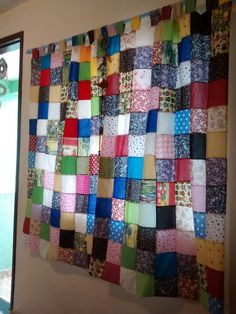 Patchwork Curtains, Home Daycare, Rag Quilt, Mug Rugs, Kitchen Curtains, Window Coverings, Fabric Scraps, New Homes, Diy Projects