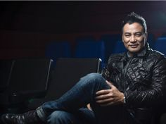Simon Yam, he's like one of the most famous HK & asian actor. Classy, tall, and talented.
