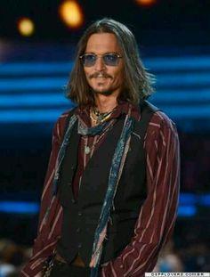 Johnny Depp 2013 Grammys
