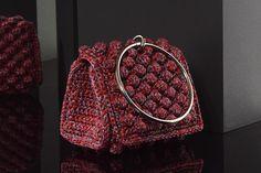Matoohandmade Mini purse silk Crochet Bags, Mini Purse, Gucci, Shoulder Bag, Purses, Silk, Fashion, Crochet Purses, Handbags