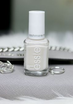 Look cozy chic with a 'wrap me up' manicure, featuring this soft neutral nail polish from the cashmere matte collection.