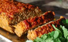 <p>Flavorful, tender and moist without being sticky.  The smoked paprika glaze adds a really nice touch, too. I think this is my best vegan meatloaf yet.</p>